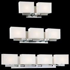 contemporary vanity lighting ... by George Kovacs contemporary-bathroom-lighting-and-vanity-lighting
