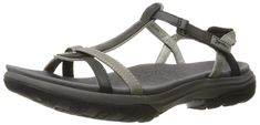 Jambu Women's Charlotte Flat Sandal * Details can be found by clicking on the image. Flat Sandals, Womens Flats, Charlotte, Amazon, Charcoal, Image Link, How To Wear, Stuff To Buy, Shoes