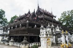 Full Day Excursion in Mandalay Join this day tour and experience the different culture and life style of Burmese people. Get inside tips from locals the history and architecture of pagodas built in centuries by Myanmar Kings. Lunch and hotel transportation is included.Our driver will pick you up from your hotel around 8:30am and head to Mahamuni Pagoda. Mahamuni Pagoda is one of the most important Buddhist pilgrimage sites in Myanmar. The Buddha was encrusted with gold leaves...