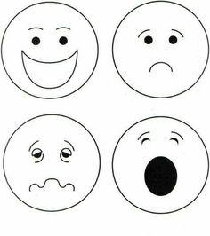 """""""Παίζω και μαθαίνω στην Ειδική Αγωγή"""" efibarlou.blogspot.gr: Κάρτες με συναισθήματα και κάρτες με διαχείριση του θυμού Art Activities For Toddlers, English Activities, Preschool Learning Activities, Preschool Activities, Toddler Crafts, Crafts For Kids, Emotions Preschool, Feelings And Emotions, Art For Kids"""