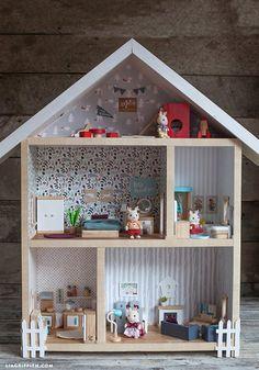 Maison de poupée DIY