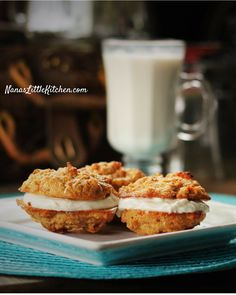 Low carb, sugar free carrot cake cookies packed with flavor and nutrition and a great texture. YUM!