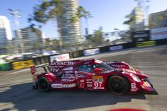 Pinned by http://FlanaganMotors.com.  Up close with the #07 car, taking a turn at the Long Beach Grand Prix