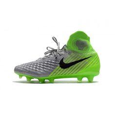 Comprar Botas De Futbol Nike Magista Obra II FG Online Verdes Grises Negras c6fdafd46426c