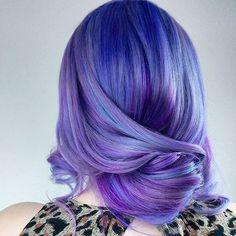 See more ideas about Hair, Dyed hair and Hair styles. Green Hair, Purple Hair, Violet Hair, Pastel Hair, Pink Purple, Lilac, Pulp Riot Hair Color, Bright Hair, Colorful Hair