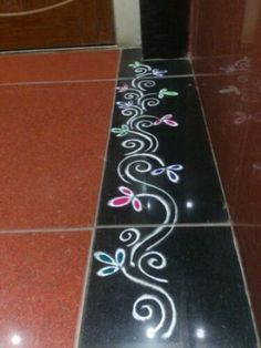 9 Best Rangoli Border Designs and Patterns | Styles At Life