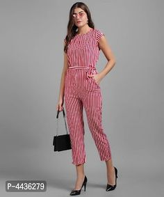 New Look Jumpsuit, Striped Jumpsuit, Printed Jumpsuit, Travel Clothes Women, Blue Fabric, Western Wear, Stripe Print, Jumpsuits For Women, Fashion Prints