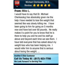 I would have to say that Dr. Michael Cherkasskyj has absolutely given me the help i have...
