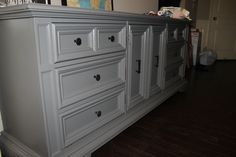 DIY Dresser refinished