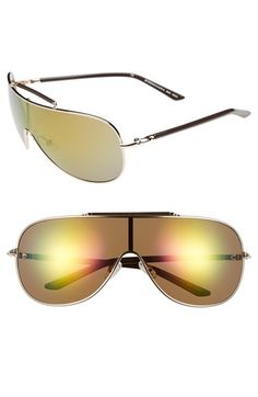 Women's BCBGMAXAZRIA Shield Sunglasses