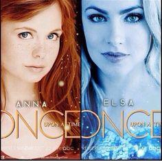 Once Upon A Time Frozen | Frozen, Once Upon A Time, Saison 4, personnage, nouveau, Anna, Elsa ...