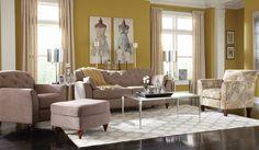 The Malina room: simply charming.