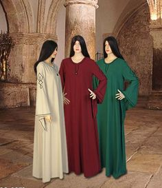 Chemise-Robe-for-Wicca-Medieval-Ritual-Fantasy-Handmade-from-Natural-Cotton
