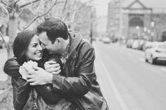 Jordana & Josh's engagement photos at St. Lawrence Market in Toronto.