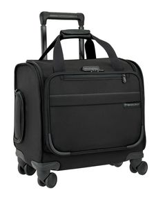 The versatility of a Rolling Cabin Bag and the effortless 360 degree navigation of four double swivel wheels, all rolled into one. Perfect for carrying on board and laying flat under your seat or in the overhead compartment.