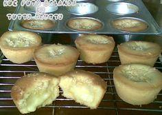 Kue Putu Belanda foto resep utama Pastry Recipes, Muffin Recipes, My Recipes, Dessert Recipes, Cooking Recipes, Rice Recipes, Indonesian Desserts, Indonesian Food, Bolu Cake