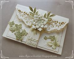 Elly's Card- Corner: Demo No. 14. Gift Card Holder..