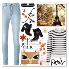 """I Love Paris in the Fall"" by enola-pycroft ❤ liked on Polyvore featuring Oasis, Chanel, Again, Betsey Johnson, Pierre Hardy and Azalea"