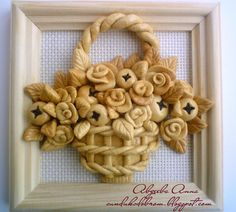 Salt Dough Projects, Salt Dough Crafts, Diy And Crafts, Arts And Crafts, Bread Art, Clay Stamps, Biscuit, Christmas Clay, Clay Tools