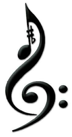 Musik Symbol Tattoo - ClipArt Best