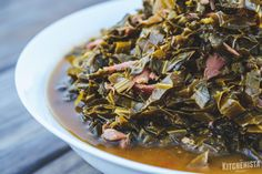 The Kitchenista Diaries: How to Make a Pot of Southern Greens