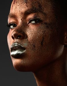 Photographer:Jonathan Knowles recently teamed up with make-up artist Aly Hazlewood and stunning model Flaviana Matata.