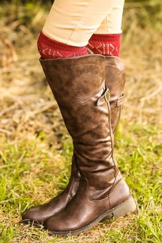 Walk On By Boots-Dark Chocolate - $52.00