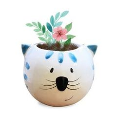 Piggy Bank, Planter Pots, Recycling, Doodles, Round Vase, Jars, Vases, Diy Dog, World