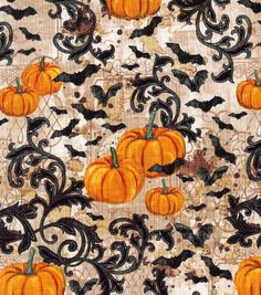 Halloween Cotton Fabric-Wicked Halloween Allover