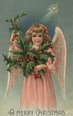 Dragonfly Treasure: Vintage Christmas Images