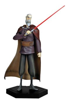 Estatua Star Wars The Clone Wars. Conde Dooku, 25 cms