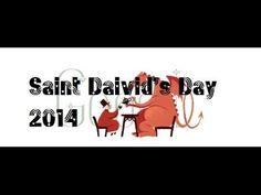 Saint David's Day 2014 Google Doodle | Dydd Gŵyl Dewi Sant Wales