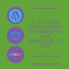 3 Best Web Development Software For Web Developer Of 2019 - ADN Digital Web Development Tools, Template Site, Professional Website, Building A Website, Best Web, Free Website, Do Anything, Tool Design, How To Look Better