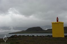 Yellow lighthouses    Photographic Journey by Baltic Verse | 'Eskifjörður Lighthouse, Iceland'