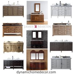 incorporate the look and craftsmanship of fine furniture into one of the most used spaces in your home to create an everyday oasis. #dynamichome #bathroom #vanity #oasis #furniture #homedecor #traditional #transitional #modern #rustic #storage #homedecor #interiors #interiordesign #ideas