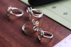 Wire rings ~ Canyon Black Jewelry