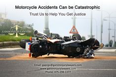 Motorcycle Accidents Can be Catastrophic Trust Us to Help You Get Justice  #motorcycleaccidents #motorcycleaccidentlawyers