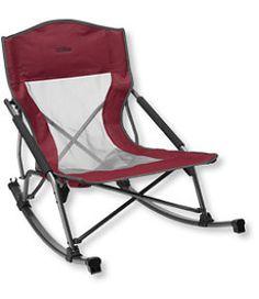 #LLBean: Low Rider Camp Rocker Chair - NEW $49.95