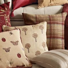 Tweed Woven Collection Cushion #Dunelm #Decor #LivingRoom