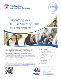 Supporting Your LGBTQ Youth: A Guide for Foster Parents  https://www.facebook.com/pages/KTT-INC/500848806629262