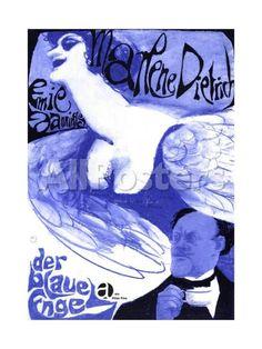 The Blue Angel, 1930 (Der Blaue Engel) Movies Giclee Print - 46 x 61 cm