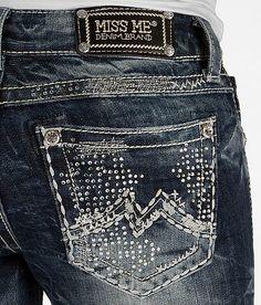 'Miss Me Cuffed Ankle Skinny Stretch Jean' #buckle #fashion www.buckle.com