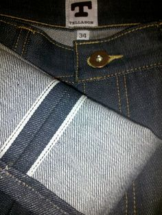 Tellason Jeans. Made in America, selvage denim. Great classic style.