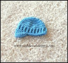 Posh Pooch Designs Dog Clothes: Preemie Hats and More Crochet Patterns That Work Great! | Posh Pooch Designs