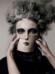 MORNING BEAUTY | ANNA MARIA URAJEVSKAYA BY MICHELANGELO DI BATTISTA  Vogue Beauty Italia  November 2007