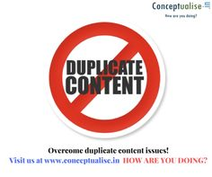 Original content to handle your SEO. visit us at www.conceptualise.in HOW ARE YOU DOING-