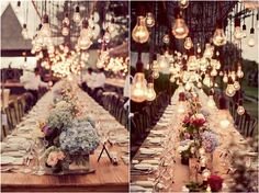 Although it is one of the most important details, lighting is frequently overlooked when planning a wedding. Often we focus on the decorations to cover the tables, walls and everywhere in between, but a big influence ...