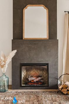 Electric fireplaces don't need any vent, chimney or flue. If you care about the air quality in your home, an electric fireplace should be your choice over any other type of fireplace. Bioethanol Fireplace, Gas Fireplace, Electric Fireplaces, Fireplace Inserts, Hearth, Type, Pictures, Log Burner, Photos