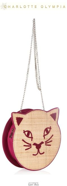 Charlotte Olympia Pussycat Shoulder Bag - Cruise 2015