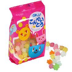 Japanese rock sugar candy